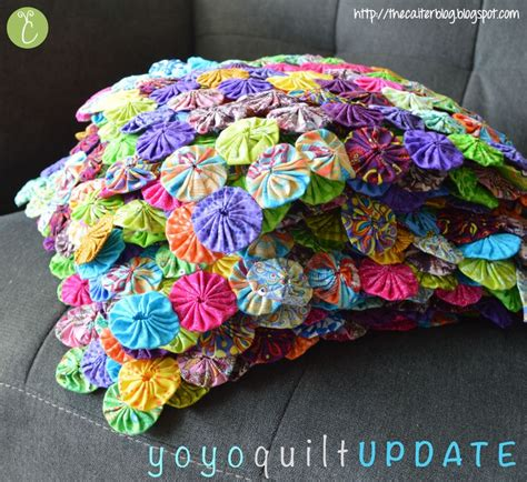 How To Make Yo Yos For A Quilt by Yoyo Quilt Tutorial Sewing Project Sew Sewing