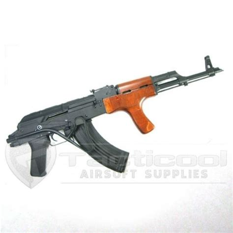 Airsoft Gun Crisis Real Scale Ak 47 1 cyma steel real wood aims ak 47 electric back aeg cm 050 1 1 scale