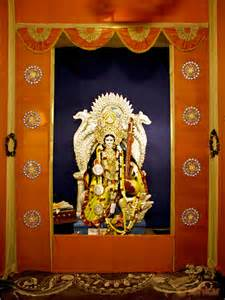 Home Decoration For Puja Saraswati Puja Pandal Decoration Idea Best Handmade Saraswati Puja Pandal Images Photos Www