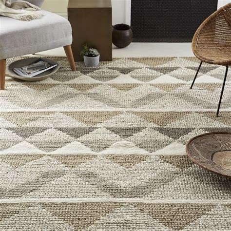 west elm rugs australia knotted triangle wool rug west elm
