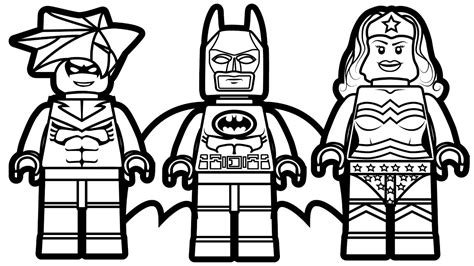 Coloring Page Lego by Lego Flash Coloring Pages