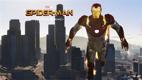 gta ironman mod pc game download iron man mark 47 spider man home coming add on ped