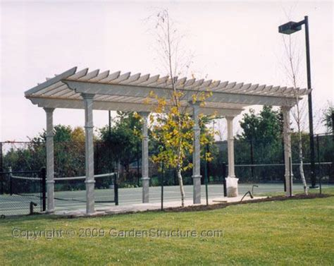A Large 6 Post Pergola Plan Outdoor Living Pinterest Large Pergola Plans