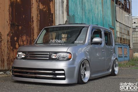 scion cube purple don t be a square nissan cube state of stance nissan
