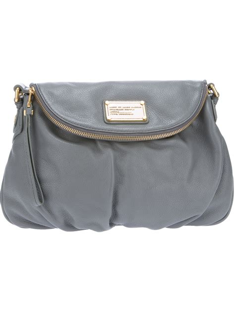 Marc By Marc Captain Shoulder Bag Purses Designer Handbags And Reviews At The Purse Page by Marc By Marc Classic Q Shoulder Bag In Gray