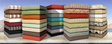 material for outdoor furniture cushions custom outdoor cushions replacement patio cushions los