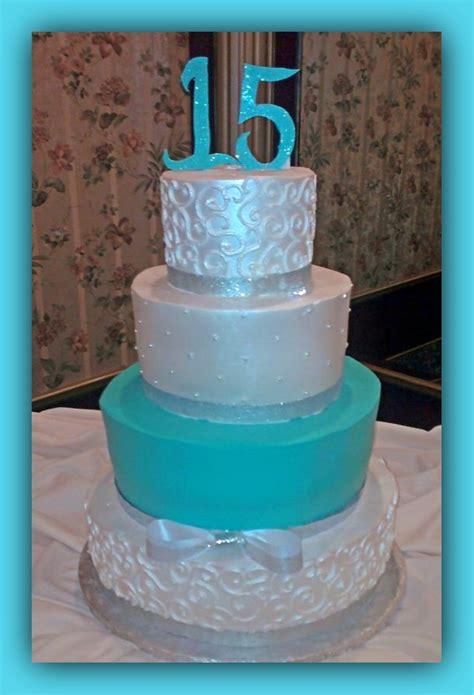 15 ba 241 os modernos color blanco tortas de 15 color turqueza 15 a 209 os color turquesa