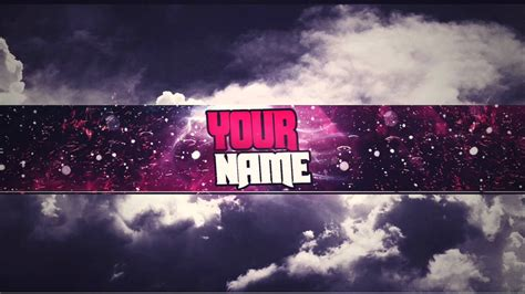 free youtube banner template psd new 2016 youtube
