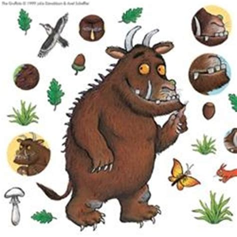 gruffalo wall stickers 17 best images about gruffalo on dibujo illustrators and food labels
