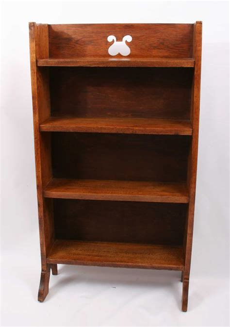 arts crafts oak bookcase antiques atlas