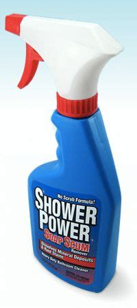 power bathroom cleaner shower power