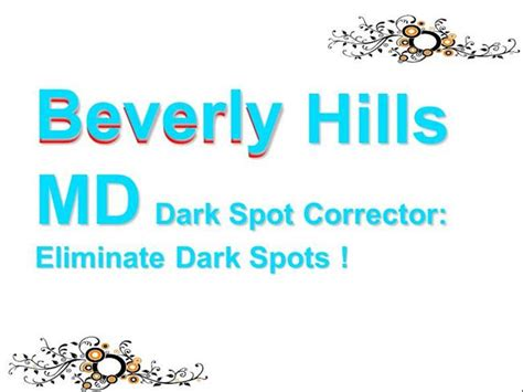 coupon code for beverly hills md spot corrector beverly hills md dark spot corrector brightens your skin