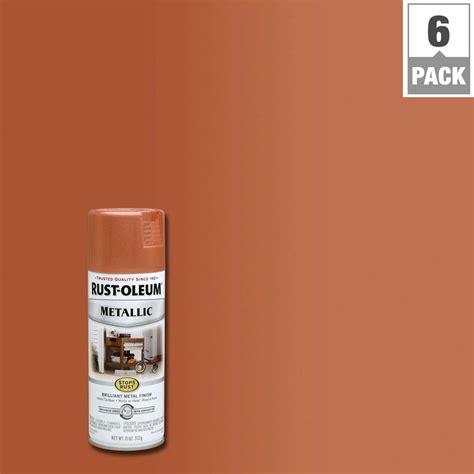 copper color paint rust oleum stops rust 11 oz copper protective enamel