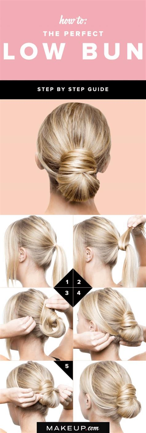 how to do low hairstyles how to the perfect low bun weddbook