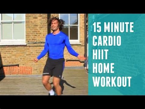 15 minute hiit cardio workout the coach