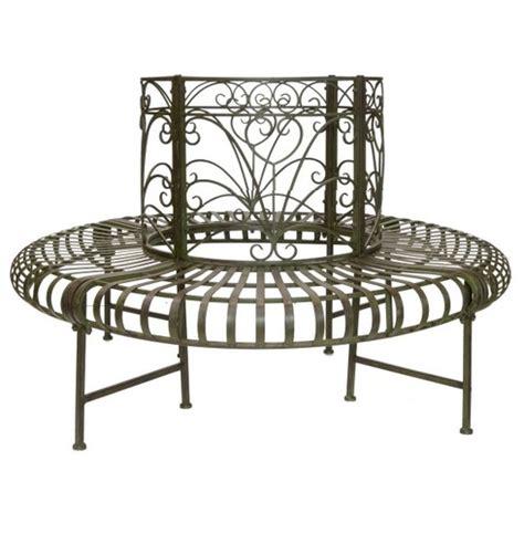 metal circular tree seats lucton circular 360 metal tree seat the garden factory