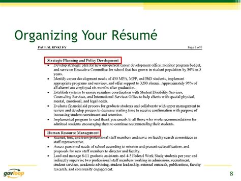 how to organize a resume how to organize your resume sles of resumes the most