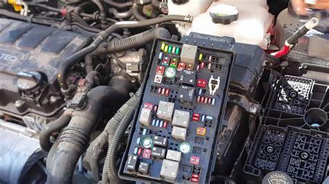 chevy cruze fuse box fails  power windows lights