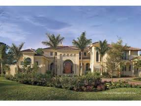 Mediterranean Style Homes by Mediterranean House Plans Home Design 2015