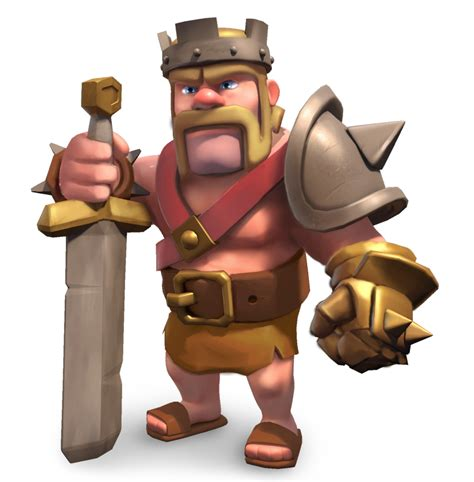 Clash Of Clans King barbarian king clash of clans level 7 www pixshark