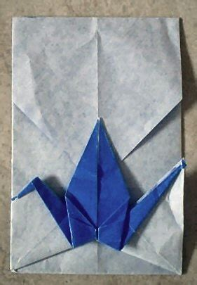 Origami Crane Envelope - 17 best images about origami on origami cranes