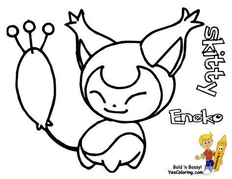 Pokemon Coloring Pages Skitty | skitty pokemon coloring pages images pokemon images