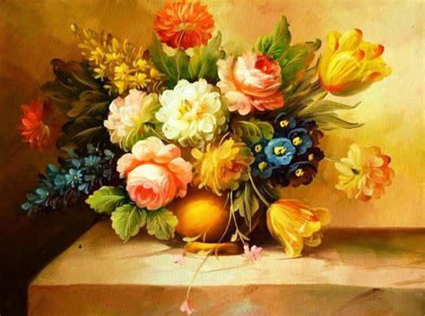 imagenes de rosas en jarrones cuadros modernos pinturas y dibujos pinturas al 211 leo de