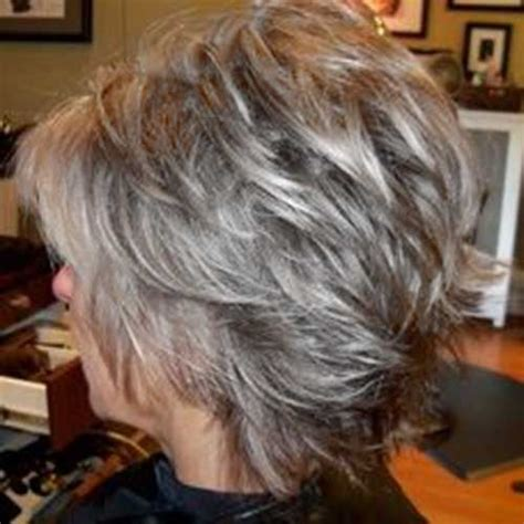 hair with shag back view twenty short gray haircuts short pixie gray hair and pixies