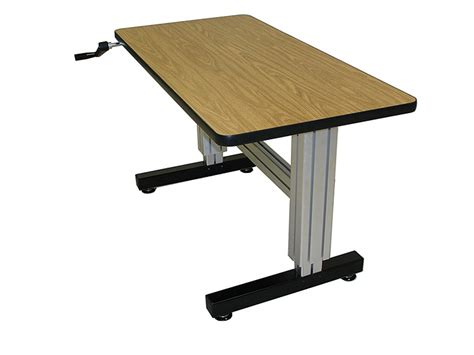 Adjustable Height Laptop Stand For Desk Adjustable Height Stand Up Computer Desk Review And Photo