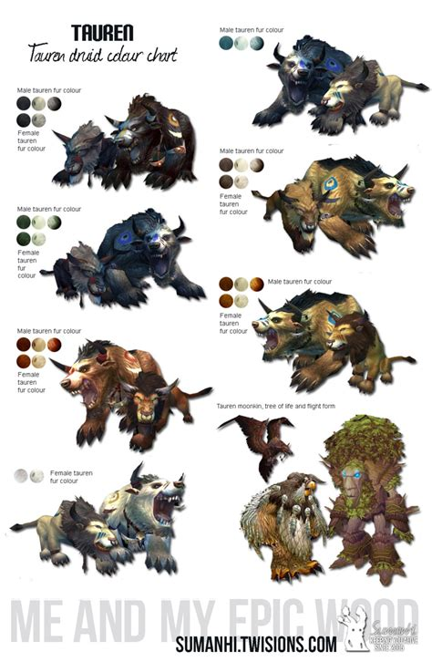 druid colors i saw a resto druid with a cool catform skin how wow
