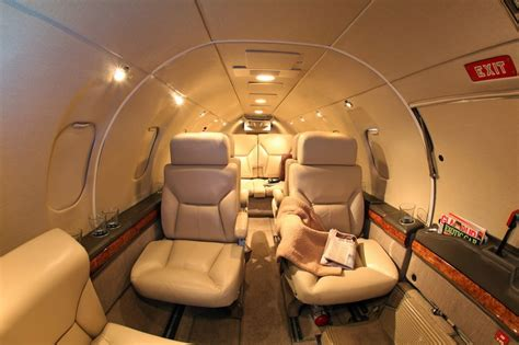 Learjet 25 Interior by Sold 1980 Learjet 25d Sn 302