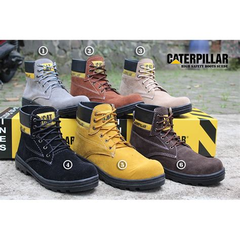Sepatu Boot Pria Timberland Oxwood Safety Import 1 best seller sepatu pria caterpillar safety boots shopee indonesia