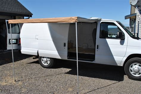 van awning ford van conversion september 2013