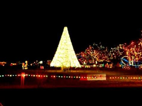 christmas in the park ii yukon ok youtube