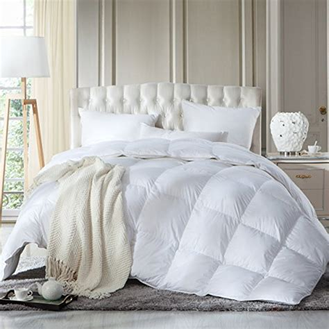 100 goose down comforter luxurious king california king size siberian goose down