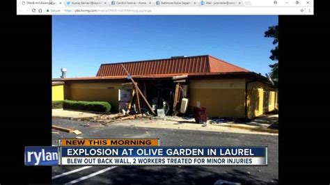Olive Garden Green Bay by Explosion Tears Through Maryland Olive Garden Nbc26 Wgba