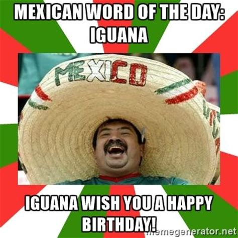 Mexican Happy Birthday Meme - 17 best ideas about funny birthday wishes on pinterest