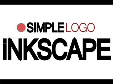 inkscape tutorial logo youtube inkscape tutorial how to design a simple logo youtube