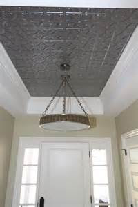 Tin Ceiling Tiles How To Make Your Tray Ceiling Feel Like Home