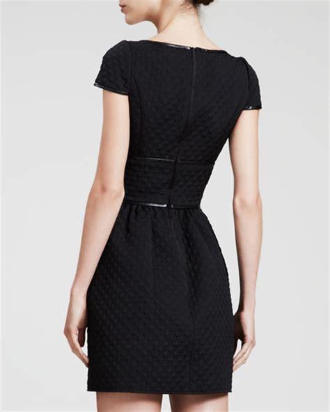 Valentino Sweetheart Bag by Valentino Sleeve Sweetheart Dress Navy Black