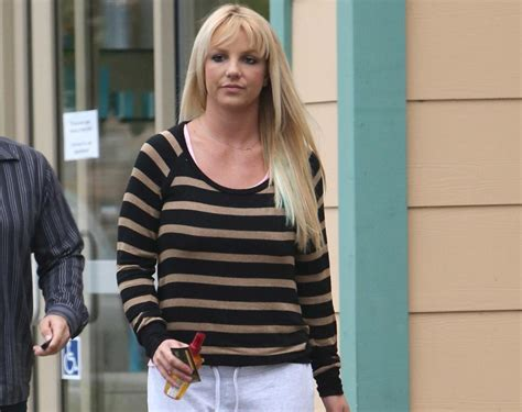 Britneys New by New Hairstyle Photos