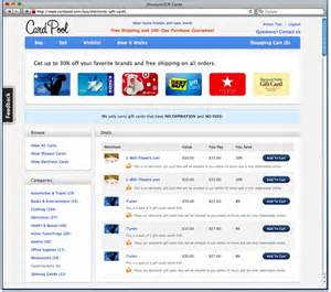 Instant Gift Cards Online - gift card marketplace cardpool introduces instant redemption attracts super angels