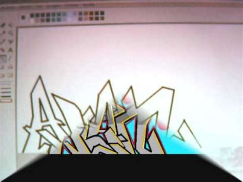imagenes que digan te amo alan graffiti alan en mspaint youtube