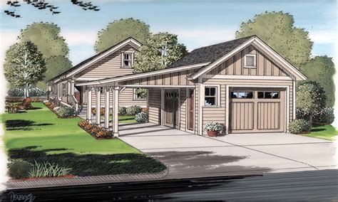 bungalow house plans with basement cottage house plans with garage cottage house plans with