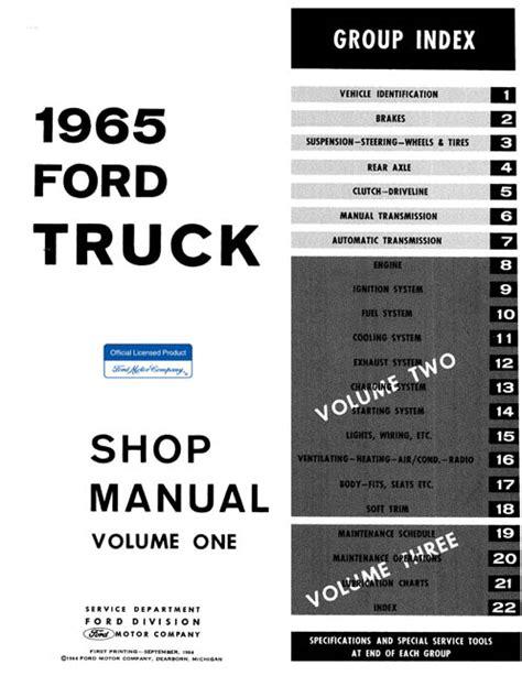 automotive repair manual 1965 ford thunderbird auto manual 1965 ford truck repair manual