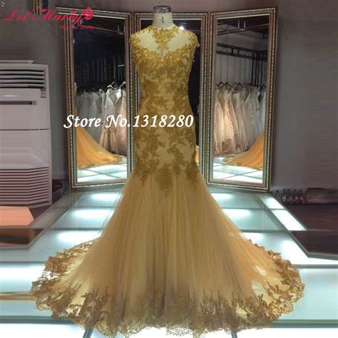 mermaid l for sale online buy wholesale gold mermaid dress gowns for sale