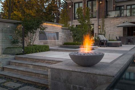 modern pit miso concrete firebowl canada usa uk