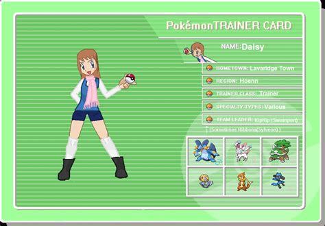 Trainer Card Template Deviantart by Trainer Trainer Card By Chibi Rainbow On