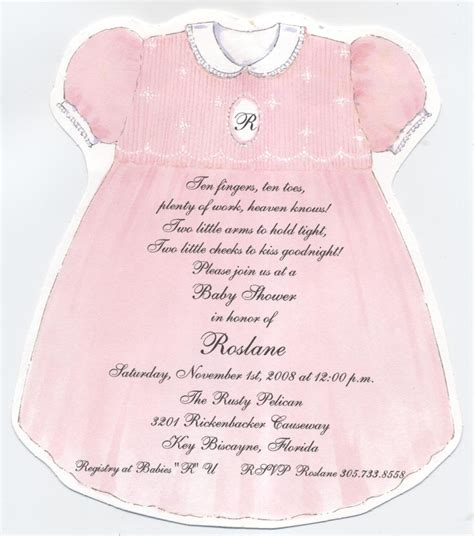 Baby Dress Invitation Template Www Pixshark Com Images Galleries With A Bite Baby Shower Dress Invitation Template