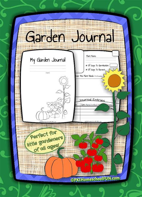printable garden journal 1000 images about educational freebies on pinterest